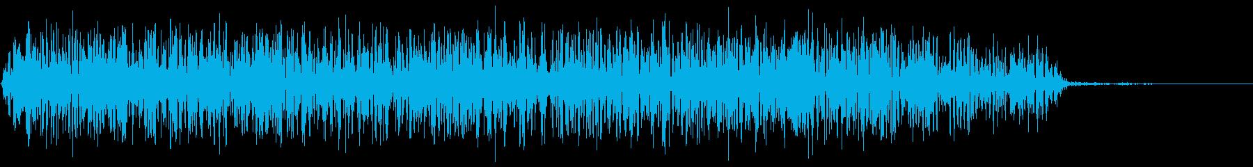 モンスター 威嚇 08の再生済みの波形