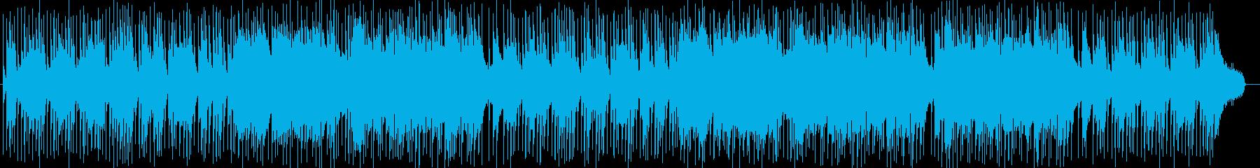 明るく爽やかなメロディーのロックの再生済みの波形