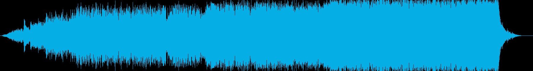チャペル入場をイメージしたバラードの再生済みの波形