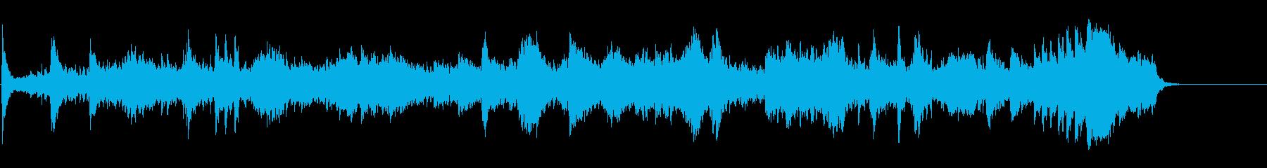 生命の芽生えを感じさせる神秘的な環境音楽の再生済みの波形