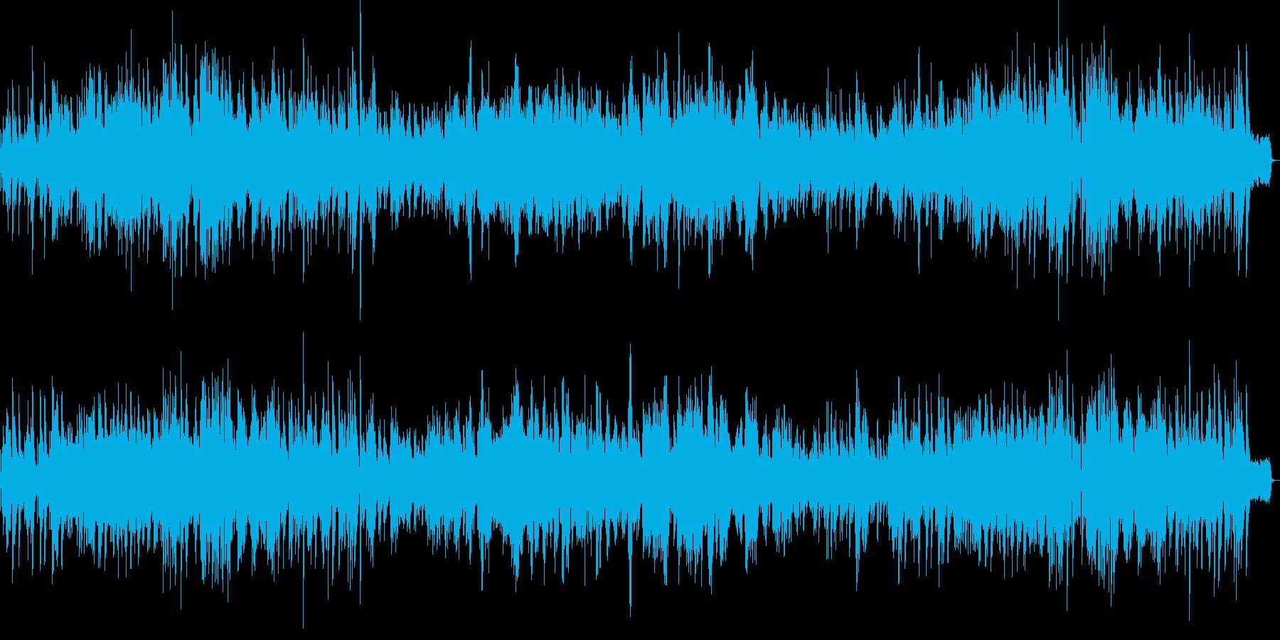ジャズバラードピアノ・コンバス映像ドラマの再生済みの波形