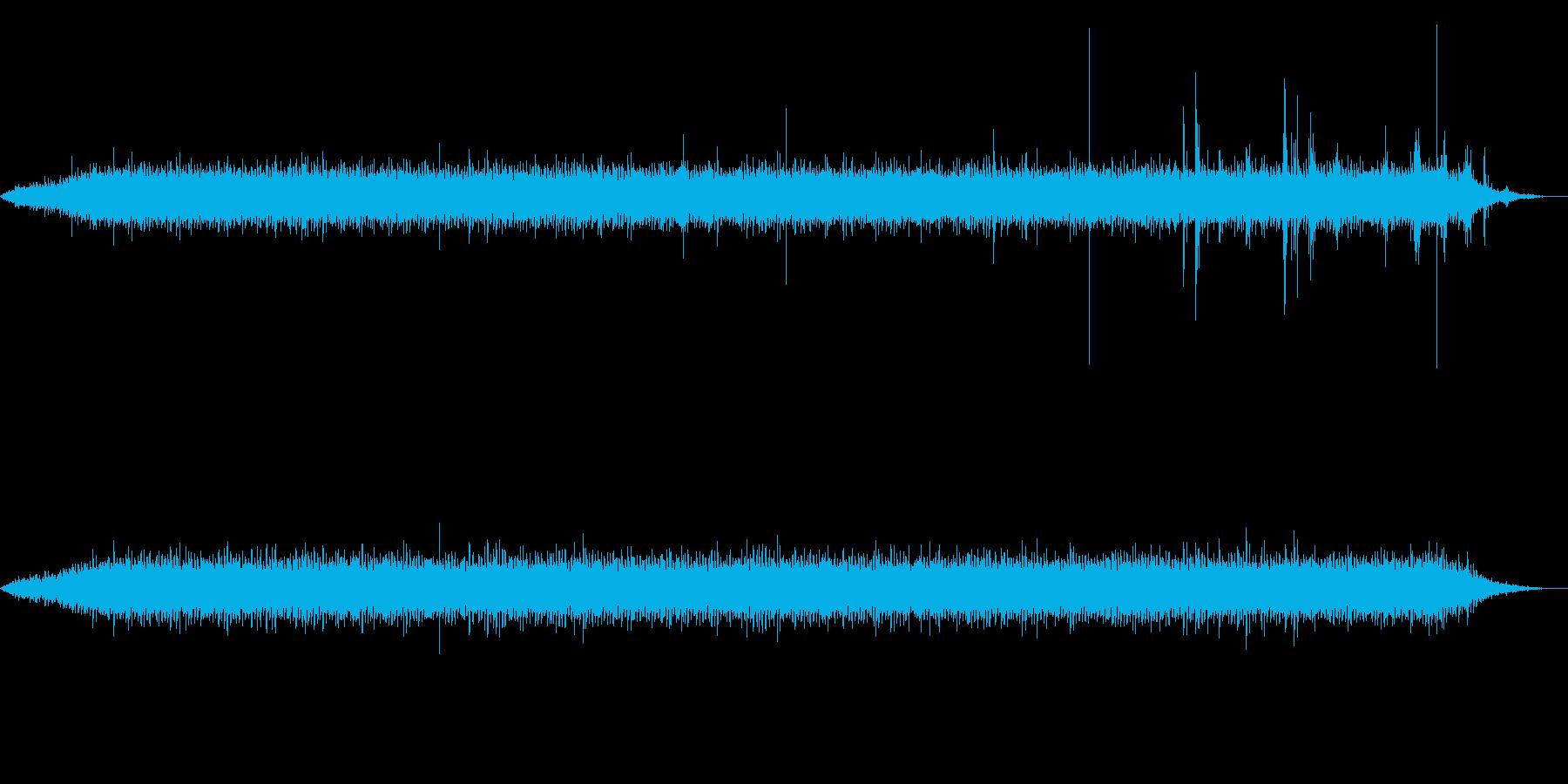 【環境音】工事現場01の再生済みの波形