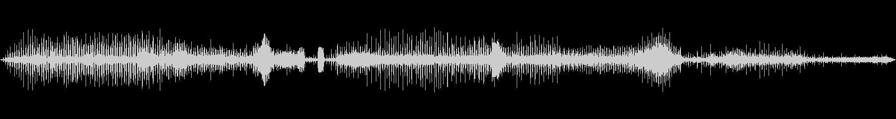 ラジオスキャン8の調整の未再生の波形