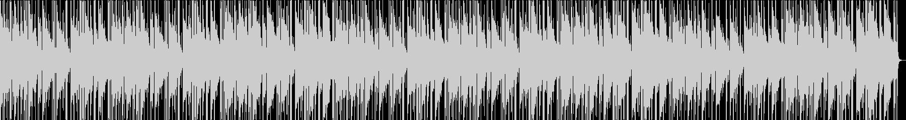 ゆったり癒されるローファイJazzの未再生の波形