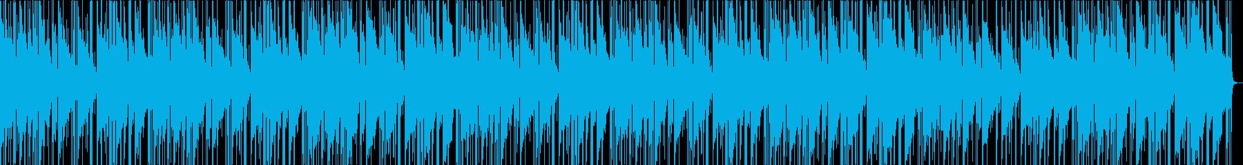 ゆったり癒されるローファイJazzの再生済みの波形