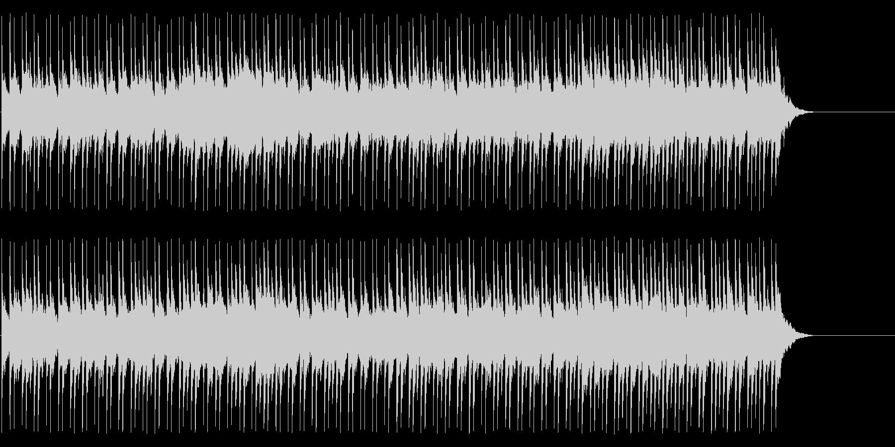 スケール感 案内 大空 ゆったりの未再生の波形