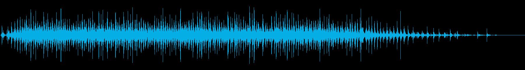 オールドハンドクランクマシン:連続...の再生済みの波形