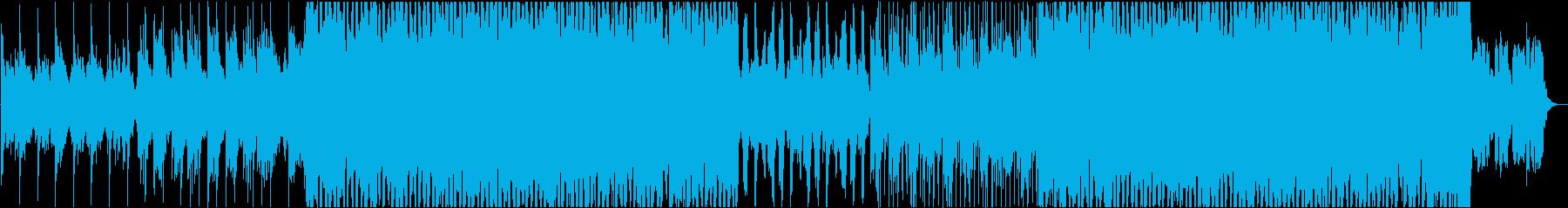 爽やかなシンセリードが特徴的なEDMの再生済みの波形