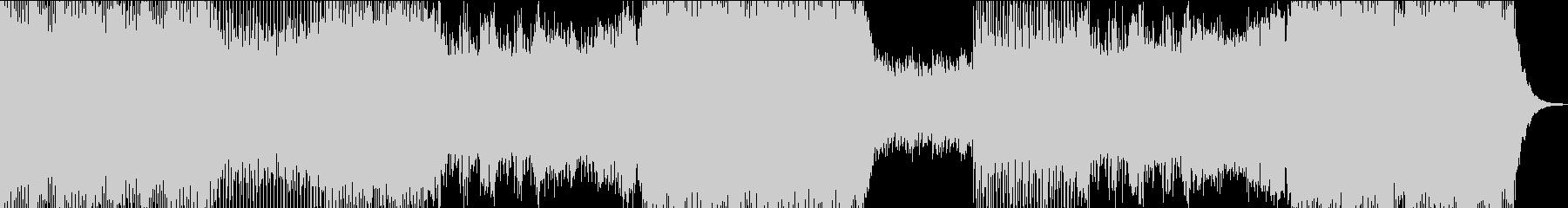 シンセが特徴的の未再生の波形
