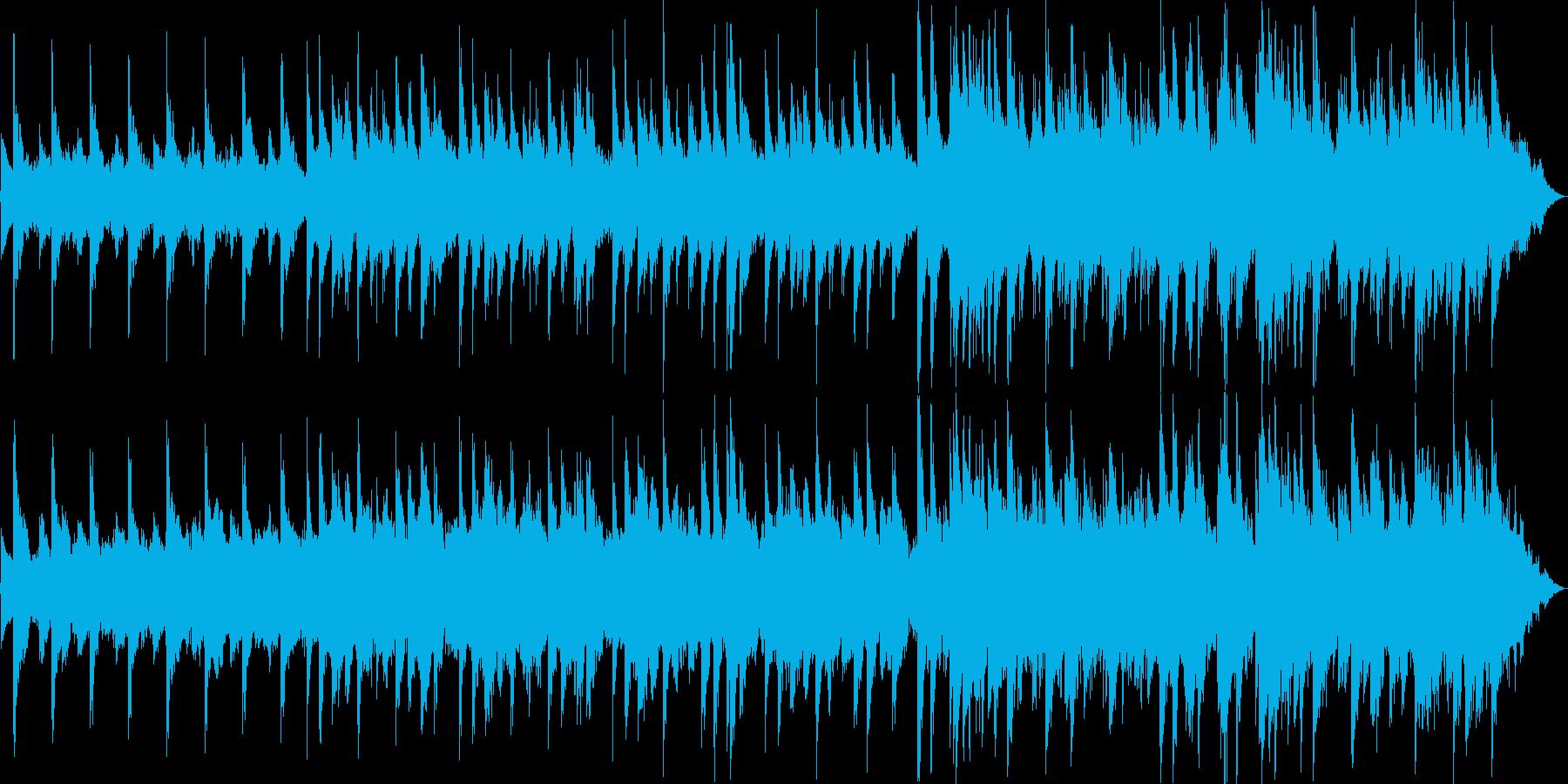 静かな雰囲気の60秒ジャストの曲です。の再生済みの波形