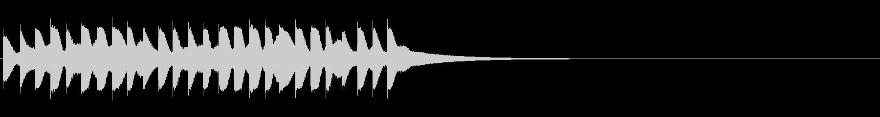 大規模なブロンズディナーゴング:い...の未再生の波形