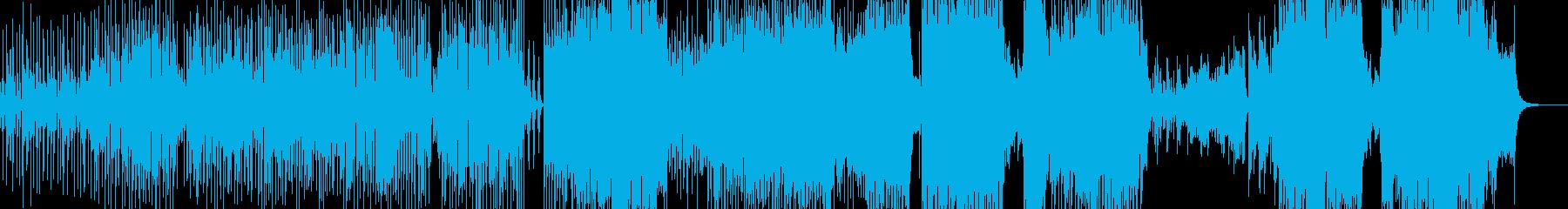 ウクレレ・南国気分のアコギポップス +の再生済みの波形