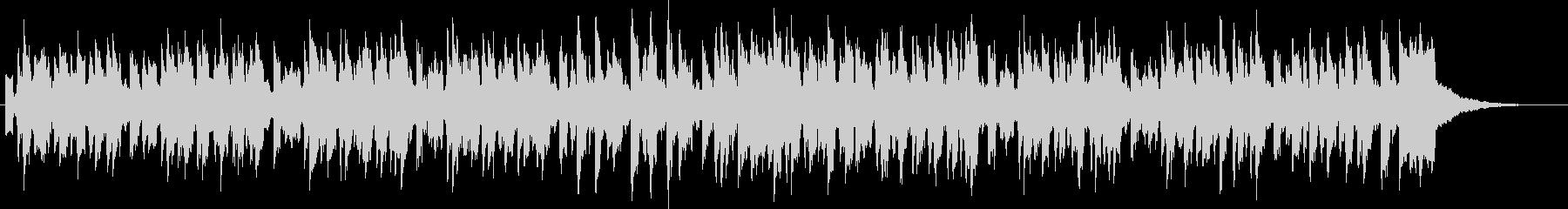 シンセとスチールドラムのほのぼのジングルの未再生の波形