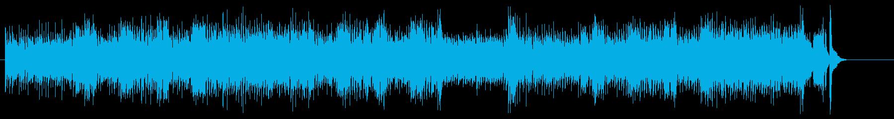 都会派フィーリングのジャズ/フュージョンの再生済みの波形