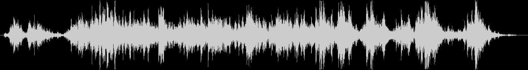 インテリア ラトルハード01の未再生の波形