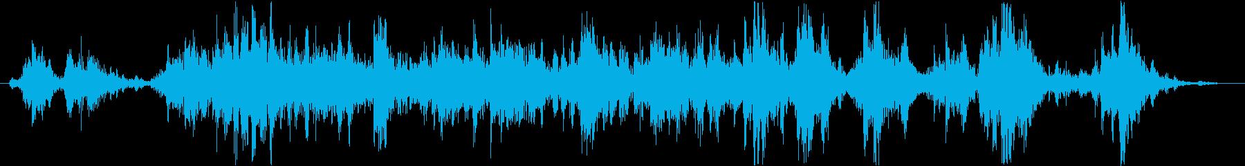 インテリア ラトルハード01の再生済みの波形