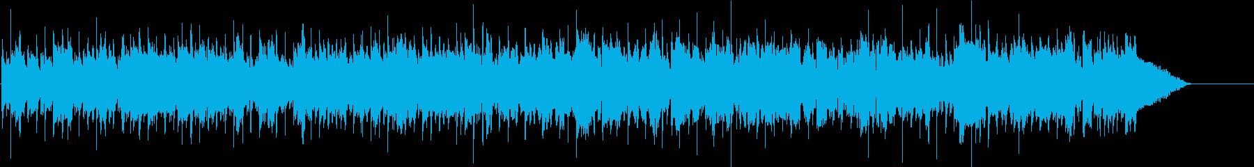 ほのぼのとしたチェロとカントリーバンドの再生済みの波形