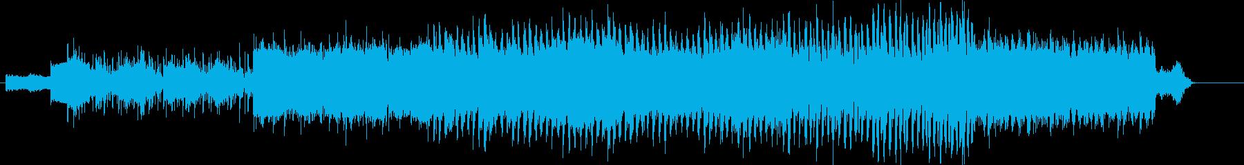 デジタルと大陸 アジアなBGMの再生済みの波形