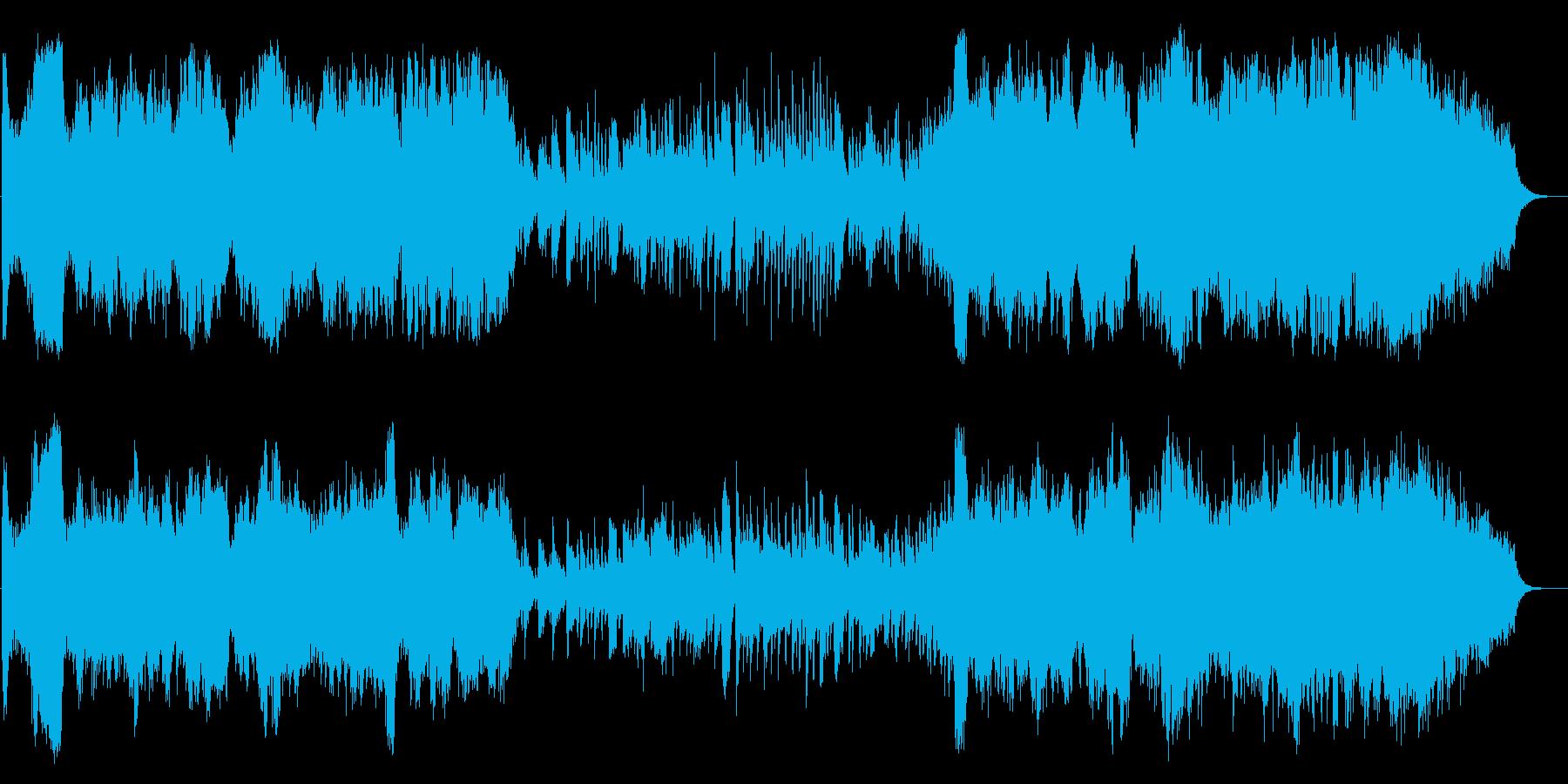 生-ハリウッドオープニング風 華やかな曲の再生済みの波形