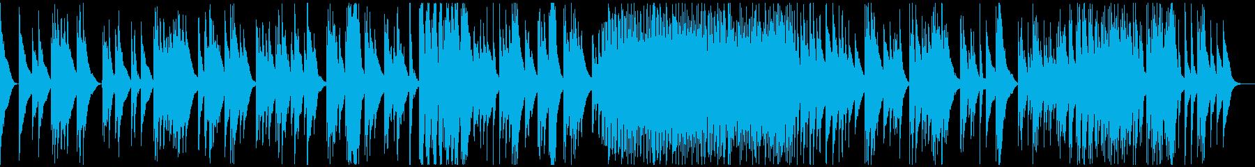 琴、オシャレな現代日本、モダンジャパンBの再生済みの波形