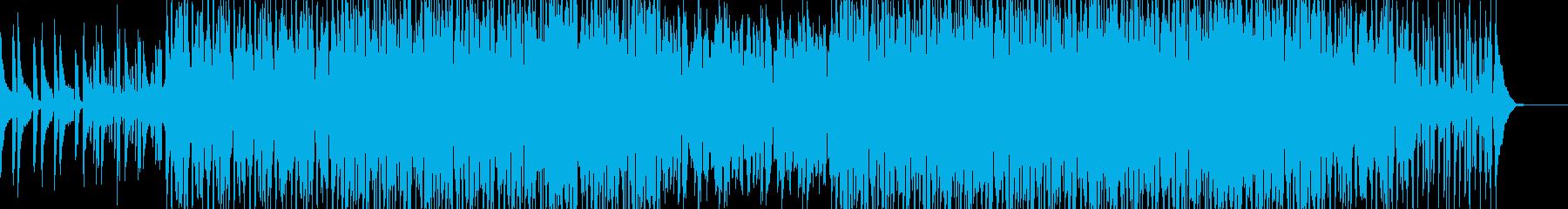 ファンク ディスコ ダンス ポジテ...の再生済みの波形