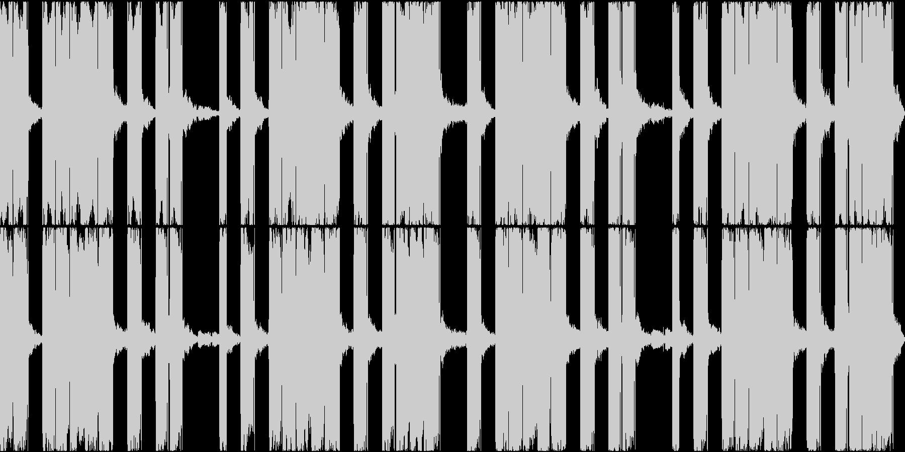 EDMで聞かれるボーカルチョップですの未再生の波形