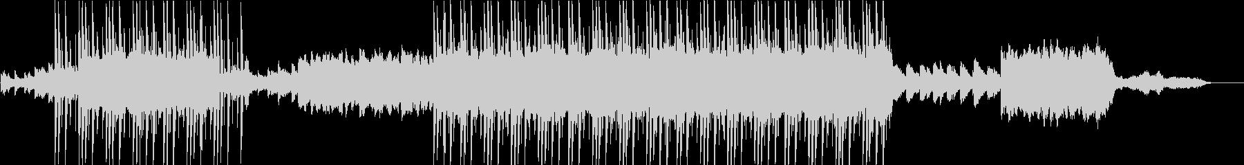 エンディングを迎える感動的なバラードの未再生の波形