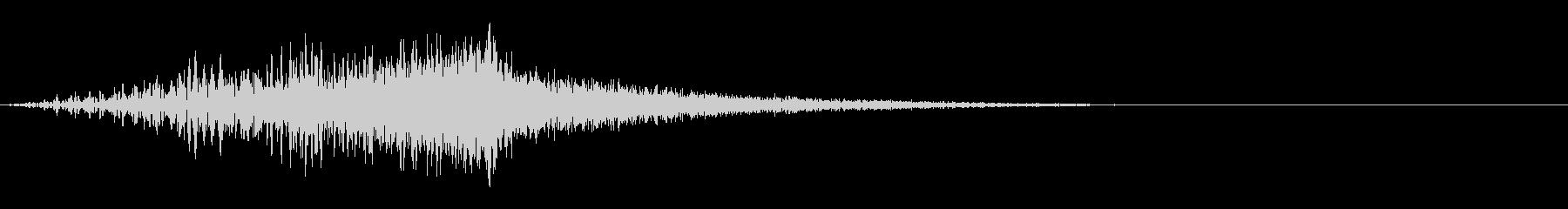 シューッという音EC07_91_1 2の未再生の波形