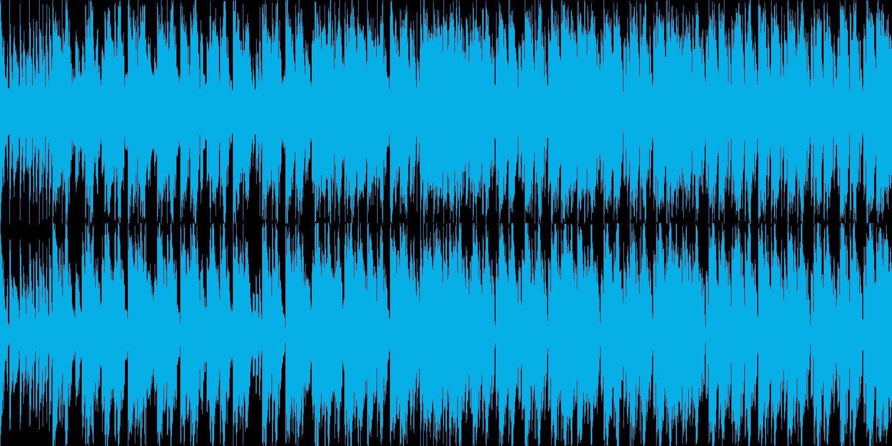 【BPM125】明るい雰囲気のエレクトロの再生済みの波形