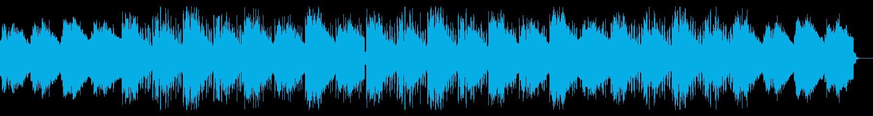 ねじれた不可思議なテクスチャの再生済みの波形