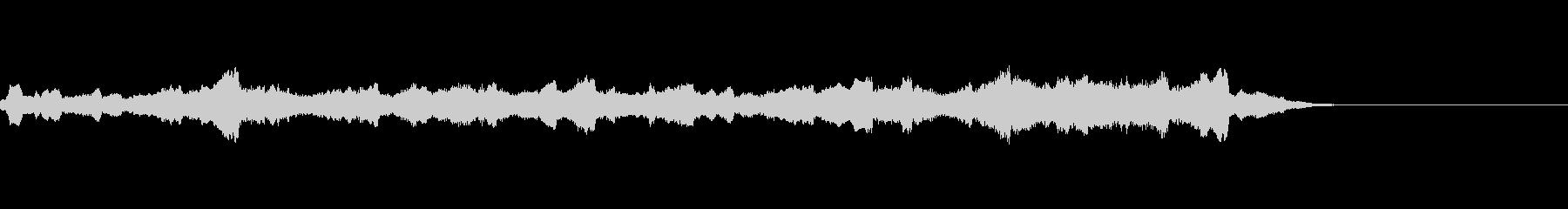 切ないバイオリン曲の未再生の波形
