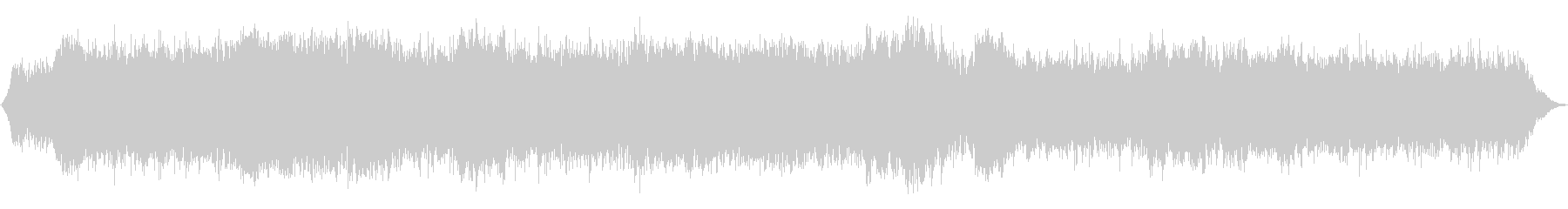 ホラーな不協和音ピアノBGMの未再生の波形