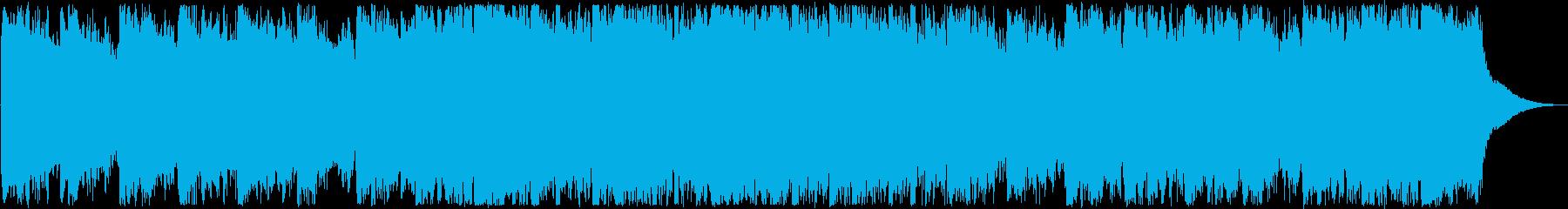 オープニング・洋楽・爽やかな男性ボーカルの再生済みの波形