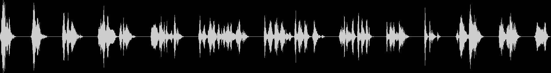 デジタル音声;男性1;コンピュータ...の未再生の波形