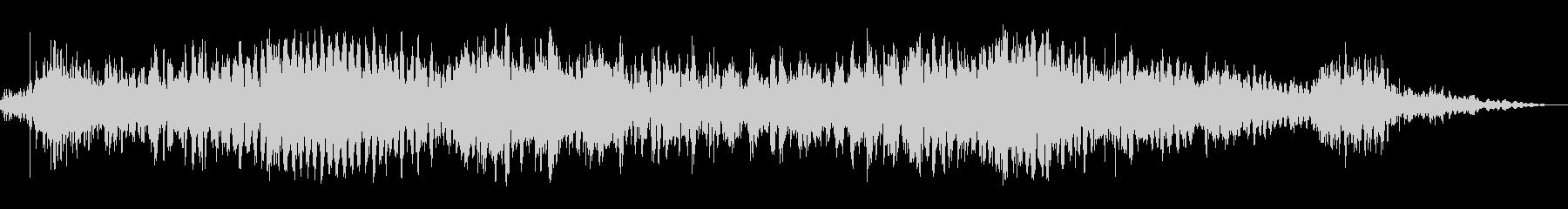悪魔のような音声1の未再生の波形