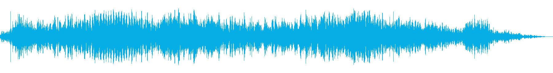悪魔のような音声1の再生済みの波形