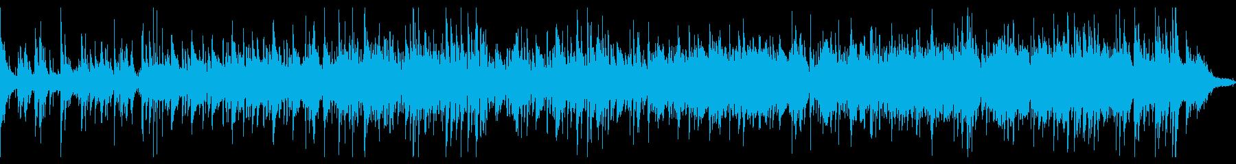 ジャズ・ピアノトリオでやや緊迫した疾走感の再生済みの波形