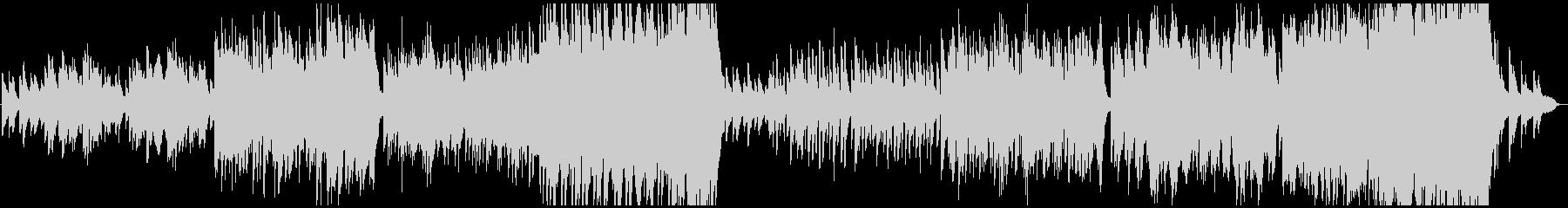 日常が流れる雰囲気のBGM・オーケストラの未再生の波形