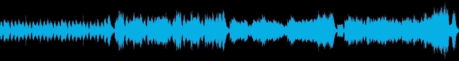可愛らしくほのぼのとしたクラシカルな曲の再生済みの波形