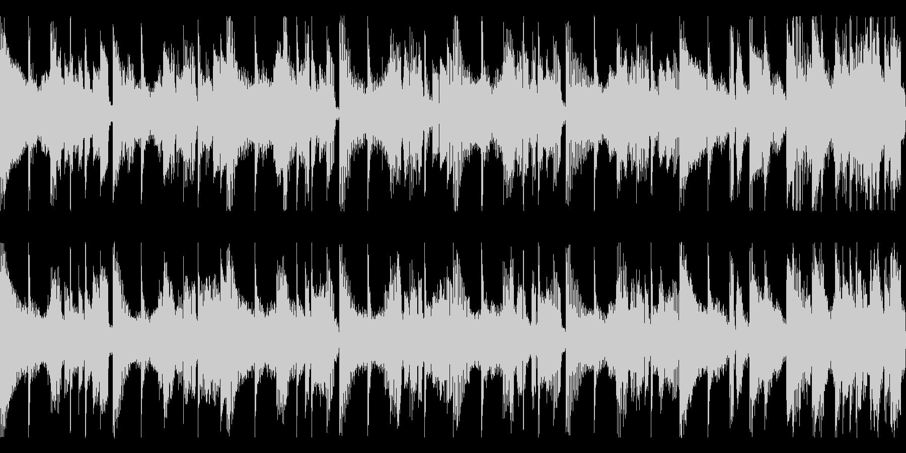 短ループ・物語の結末・エンディングピアノの未再生の波形