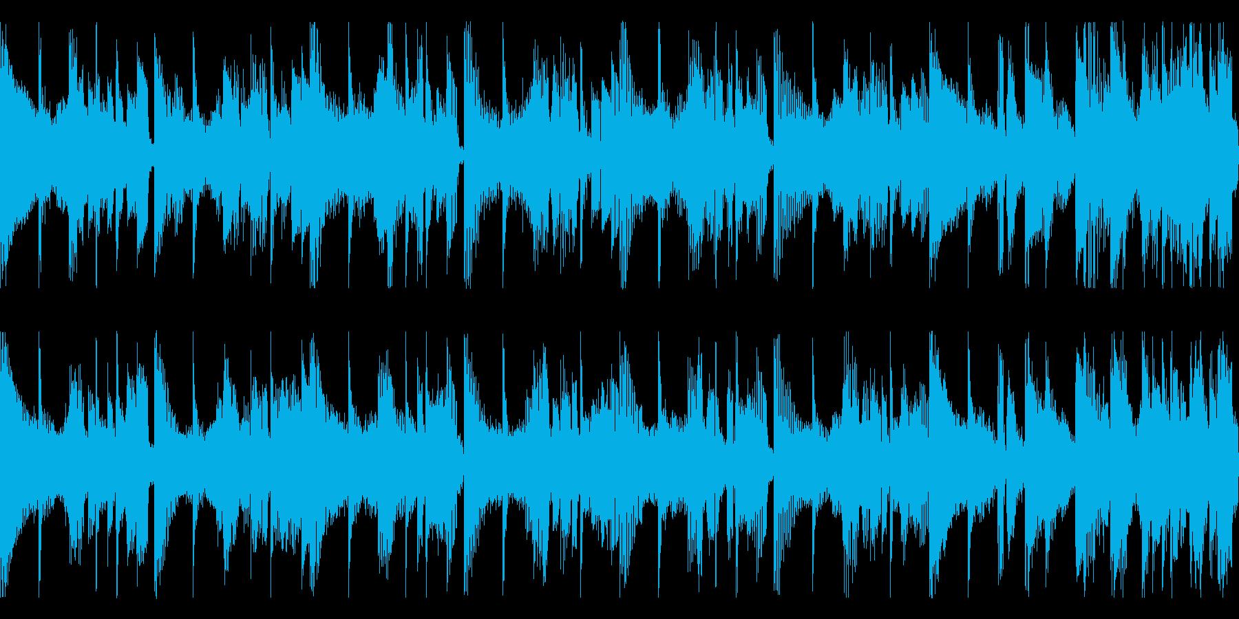 短ループ・物語の結末・エンディングピアノの再生済みの波形
