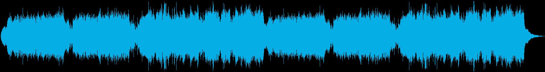 意気揚々とした雰囲気のBGMです。の再生済みの波形