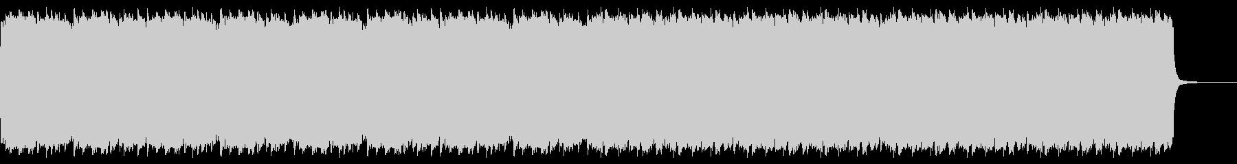 レトロゲームのフィールド風曲の未再生の波形