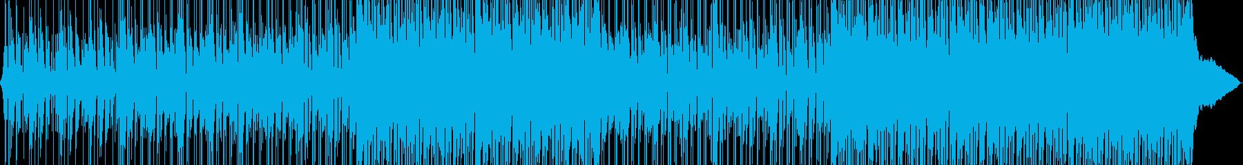 高揚感のある楽しいポップロックの再生済みの波形