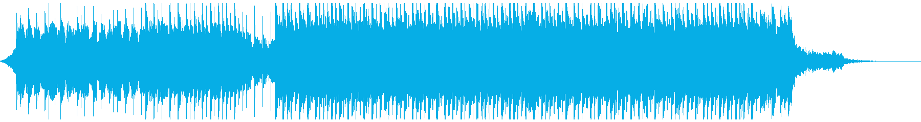 ポジティブになる(60秒)の再生済みの波形