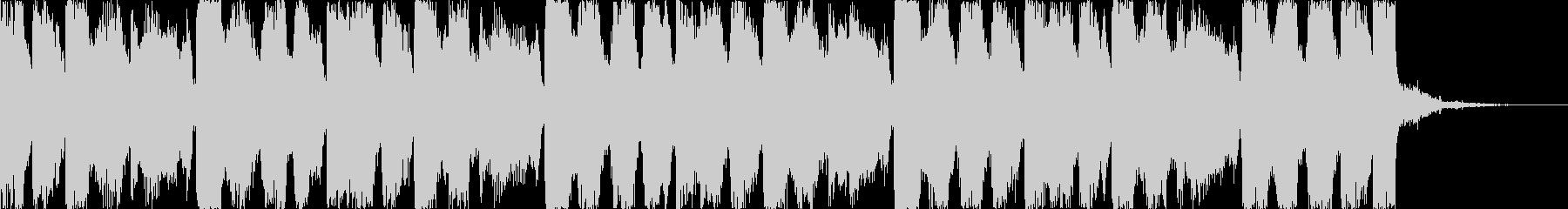 おしゃれコーポレートコマーシャルEDMdの未再生の波形