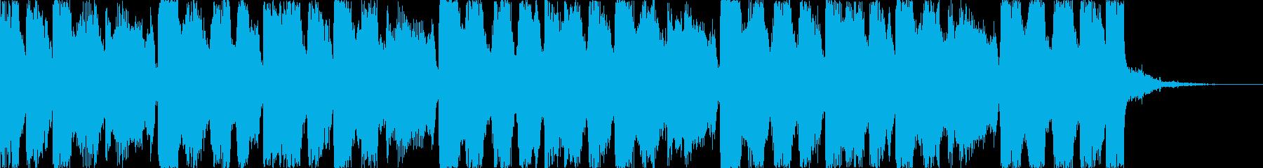 おしゃれコーポレートコマーシャルEDMdの再生済みの波形