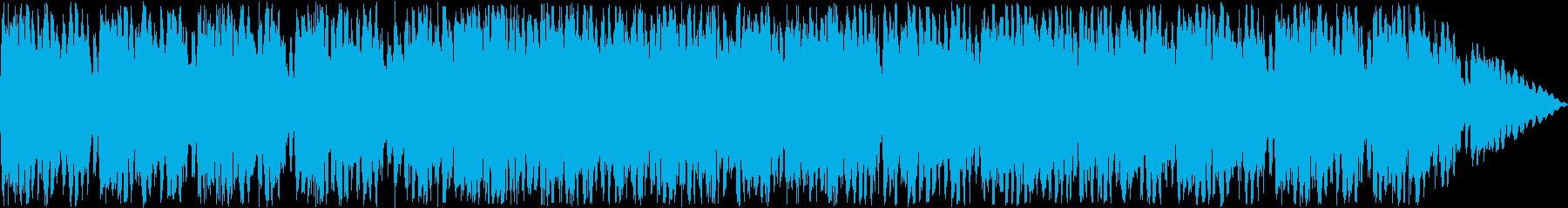 オーケストラ楽器による機械的な楽曲の再生済みの波形
