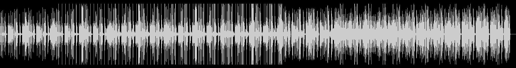 ミディアムダークなR&Bの未再生の波形