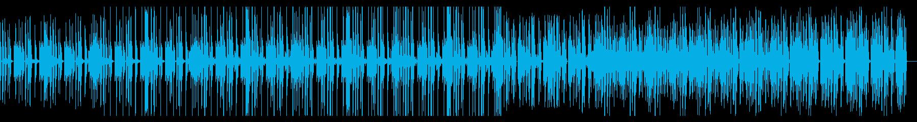 ミディアムダークなR&Bの再生済みの波形